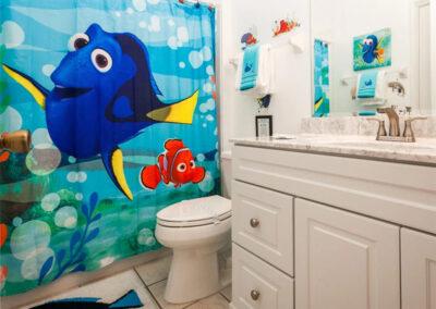 The bathroom at Windsor Palms Resort 21, Kissimmee, Orlando