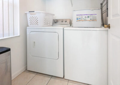 The utility room at Windsor Palms Resort 21, Kissimmee, Orlando