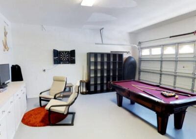 The games room at Windsor Palms Resort 21, Kissimmee, Orlando