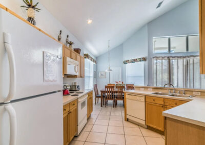 The kitchen at Windsor Palms Resort 6, Kissimmee
