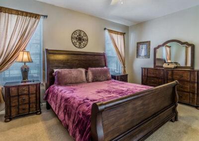 Bedroom #1 at Windsor Palms Resort 6, Kissimmee