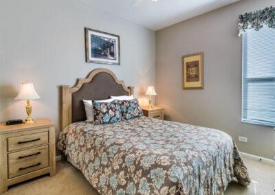 Bedroom #2 at Windsor Palms Resort 6, Kissimmee