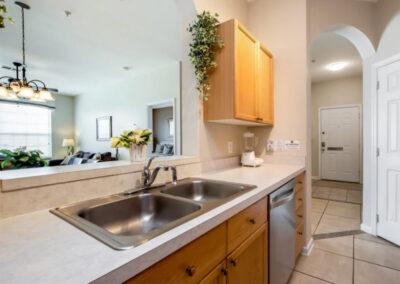 The kitchen at Windsor Palms Resort 60, Kissimmee, Orlando