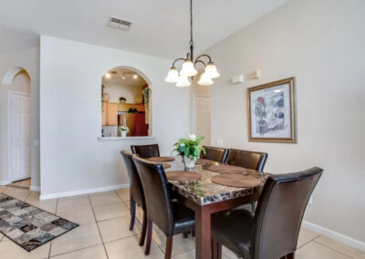 The dining area at Windsor Palms Resort 60, Kissimmee, Orlando