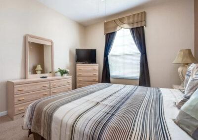 Bedroom #1 at Windsor Palms Resort 60, Kissimmee, Orlando