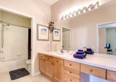 Bedroom #2 en-suite at Windsor Palms Resort 60, Kissimmee, Orlando