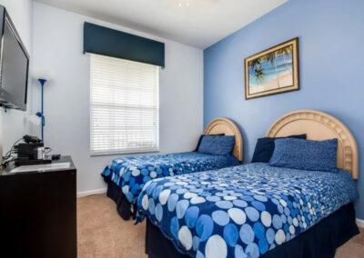Bedroom #3 at Windsor Palms Resort 60, Kissimmee, Orlando