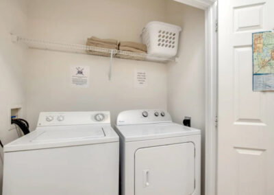 The laundry cupboard at Windsor Palms Resort 60, Kissimmee, Orlando